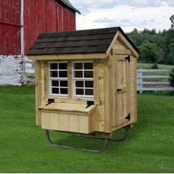 EZ-Fit Chicken Coop 3' x 4' (ez_chickencoop34)