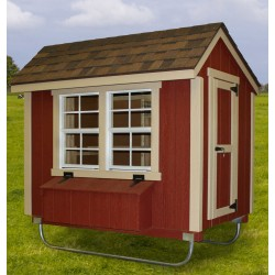 EZ-Fit Chicken Coop 4' x 6' (ez_chickencoop46)