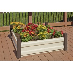 Arrow 4x4 Spacemaker Raised Bed Garden Kit (RBG44)