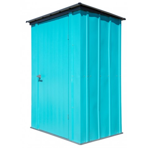 ShelterLogic 4x3 Spacemaker Steel Shed Kit - Teal and Anthracite (CY43T21)