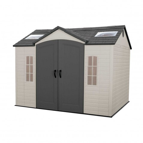 Lifetime 10x8 Outdoor Plastic Storage Shed Kit (60084)