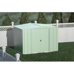 Arrow 8x6 Classic Storage Steel Shed Kit - Sage Green (CLG86SG)