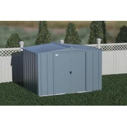 Arrow 8x6 Classic Storage Steel Shed Kit - Blue Grey (CLG86BG)