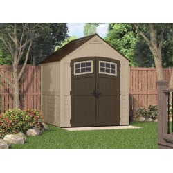 Suncast 7x7 Sutton Storage Shed w/ Floor Kit (BMS7791)