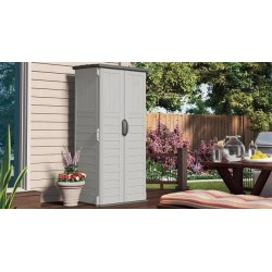 Suncast Vertical Storage Shed Kit - Vanilla (BMS1250)