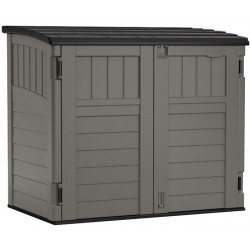 Suncast Horizontal Resin Storage Shed Kit - Stoney (BMS2500)