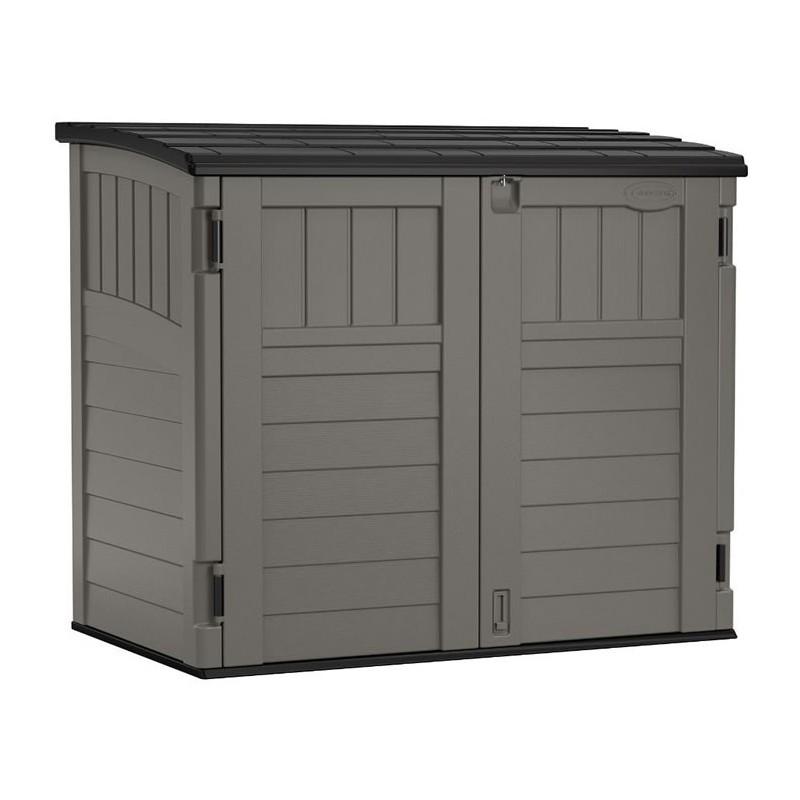Suncast Horizontal Resin Storage Shed Kit - Stoney (BMS2500)