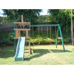 KidWise Safari Wood Swing Set Kit (KW-WG-SAFARI)