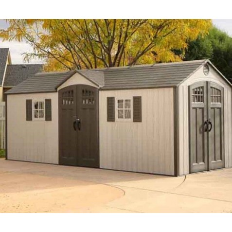 Lifetime 20x8 New Style Storage Shed Kit w/ Floor (60127)