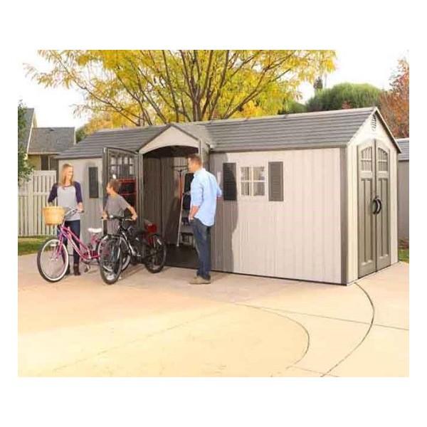 Lifetime 20x8 New Style Storage Shed Kit W Floor 60127