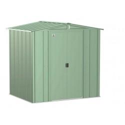 Arrow Classic 6x5 Steel Storage Shed Kit - Sage Green (CLG65SG)