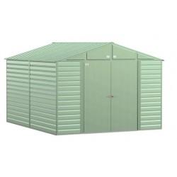 Arrow Select 10x12 Steel Storage Shed Kit - Sage Green (SCG1012SG)