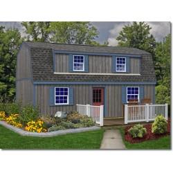 Best Barns Camp Reynolds 16x28 Wood Storage Shed Kit (campreynolds_16x28)