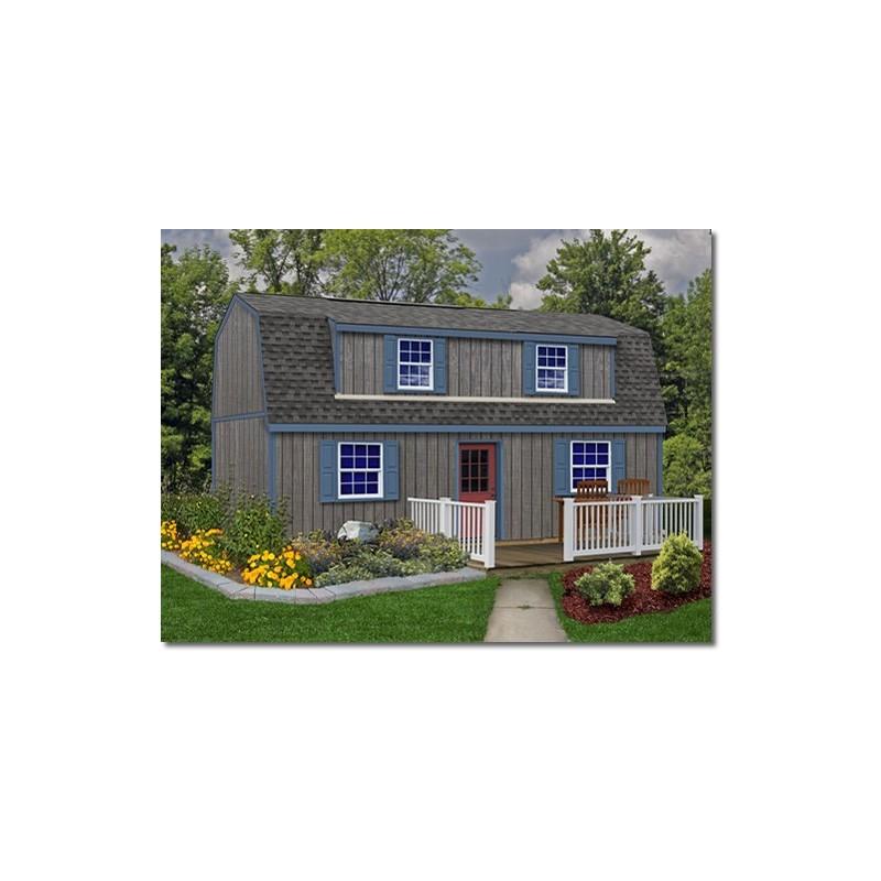 Best Barns Camp Reynolds 16x32 Wood Storage Shed Kit (campreynolds_16x32)