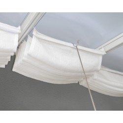 Palram 10x28 Patio Cover Blinds - White (HG1076)