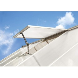 Palram Hybrid /Mythos Greenhouse Air Vent Kit - Silver (HG1013)