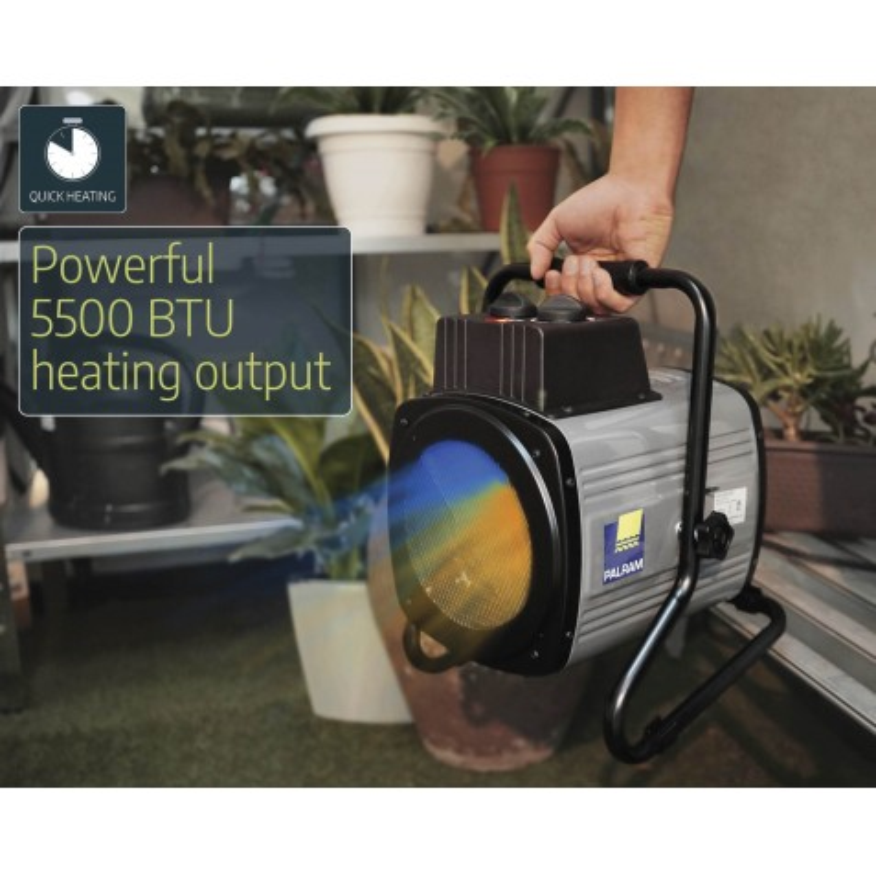 Palram 1500W Portable Fan Heater (HG1040)