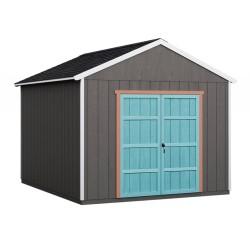 Handy Home 10x14 Rookwood Wood Storage Shed Kit w/ Floor (19433-7)