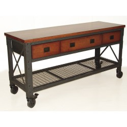 DuraMax 72 in. x 24 in. Rolling Workbench with 3 Drawers (WB68001)