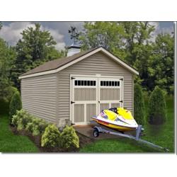 Best Barns Weston 12x16 Wood Garage Kit - All Pre-Cut (weston_1216)
