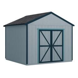 Handy Home 10x10 Rookwood Wood Storage Shed Kit w/ Floor (19428-3)
