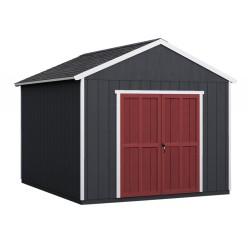Handy Home 10x12 Rookwood Wood Storage Shed Kit w/ Floor (19431-3)