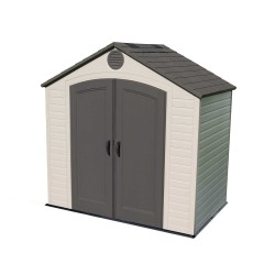 Lifetime 8x5 Plastic Storage Shed Kit w/ Floor (6418)