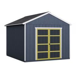 Handy Home 10x16 Rookwood Wood Storage Shed Kit w/ Floor (19437-5)