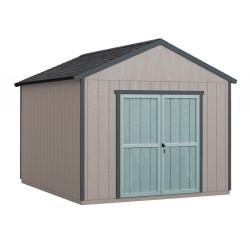 Handy Home 10x18 Rookwood Wood Storage Shed Kit w/ Floor (19439-9)