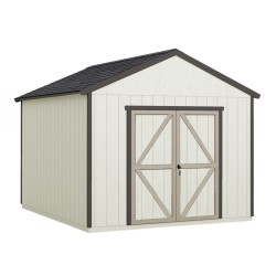 Handy Home 12x12 Astoria Wood Storage Shed Kit w/ Floor (19414-6)