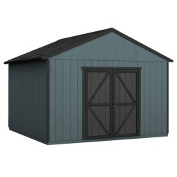 Handy Home 12x20 Astoria Wood Storage Shed Kit w/ Floor (19421-4)