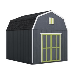 Handy Home 10x14 Braymore Wood Storage Shed Kit (19454-2)