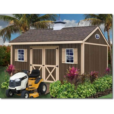 brookfield 12x16 wood storage shed kit brookfield_1612 - Garden Shed Kits