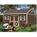 Brookfield 12x16 Wood Storage Shed Kit (brookfield_1612)