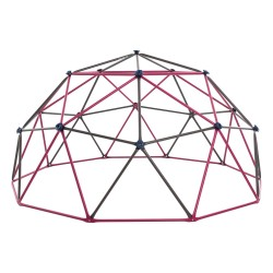 """Lifetime 66"""" Kids Metal Dome Climber - Berry and Brown (91088)"""