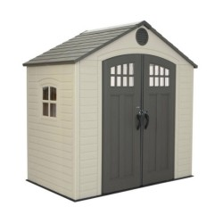 Lifetime 8x5 New Style Plastic Storage Shed Kit (60113)