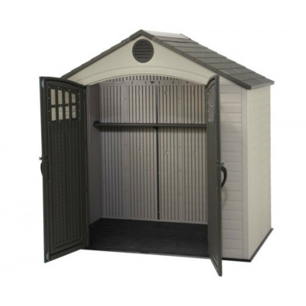 Lifetime 8x5 New Style Plastic Storage Shed Kit 60113