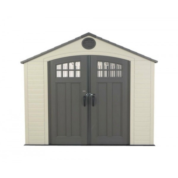 Lifetime 8x5 Ft Outdoor Storage Shed Kit With Window 60113