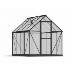 Palram 6x4 Mythos Hobby Greenhouse Kit - Gray (HG5005Y)