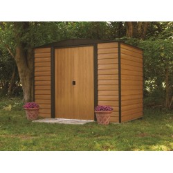 Arrow 8x6 Euro Dallas Metal Storage Shed Kit (ED86 / WR86)