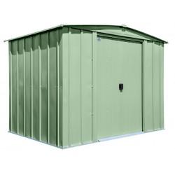 Arrow Classic 8x6 Steel Storage Shed Kit - Sage Green (CLG86SG)