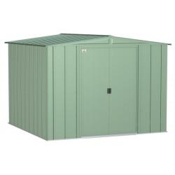 Arrow Classic 8x8 Steel Storage Shed Kit - Sage Green (CLG88SG)