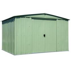 Arrow Classic 10x8 Steel Storage Shed Kit - Sage Green (CLG108SG)