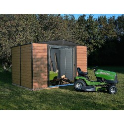 Arrow 10x8 Euro Dallas Woodridge Metal Storage Shed Kit (WR108)