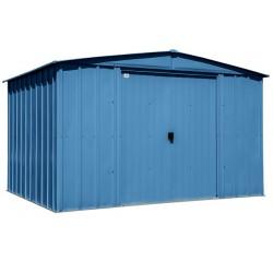 Arrow Classic 10x8 Steel Storage Shed Kit - Blue Grey (CLG108BG)