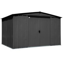 Arrow Classic 10x8 Steel Storage Shed Kit - Charcoal (CLG108CC)