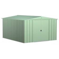 Arrow Classic 10x12 Steel Storage Shed Kit - Sage Green (CLG1012SG)