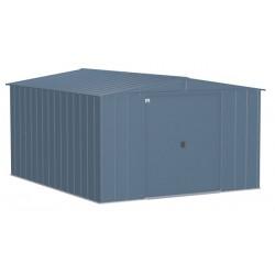 Arrow Classic 10x12 Steel Storage Shed Kit - Blue Grey (CLG1012BG)