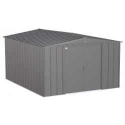 Arrow Classic 10x12 Steel Storage Shed Kit - Charcoal (CLG1012CC)