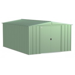 Arrow Classic 10x14 Steel Storage Shed Kit - Charcoal (CLG1014SG)